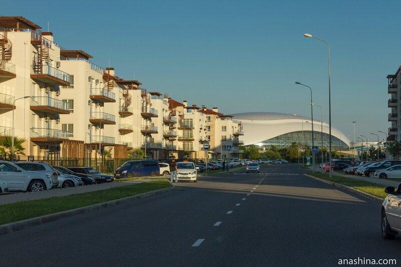 Олимпийская деревня, Сочи