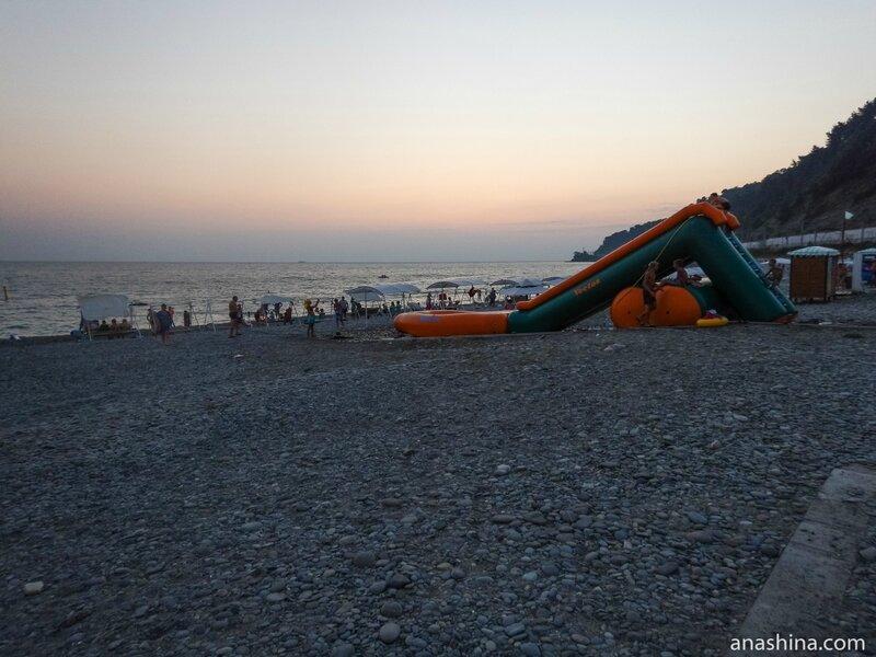 Городской пляж Дагомыса