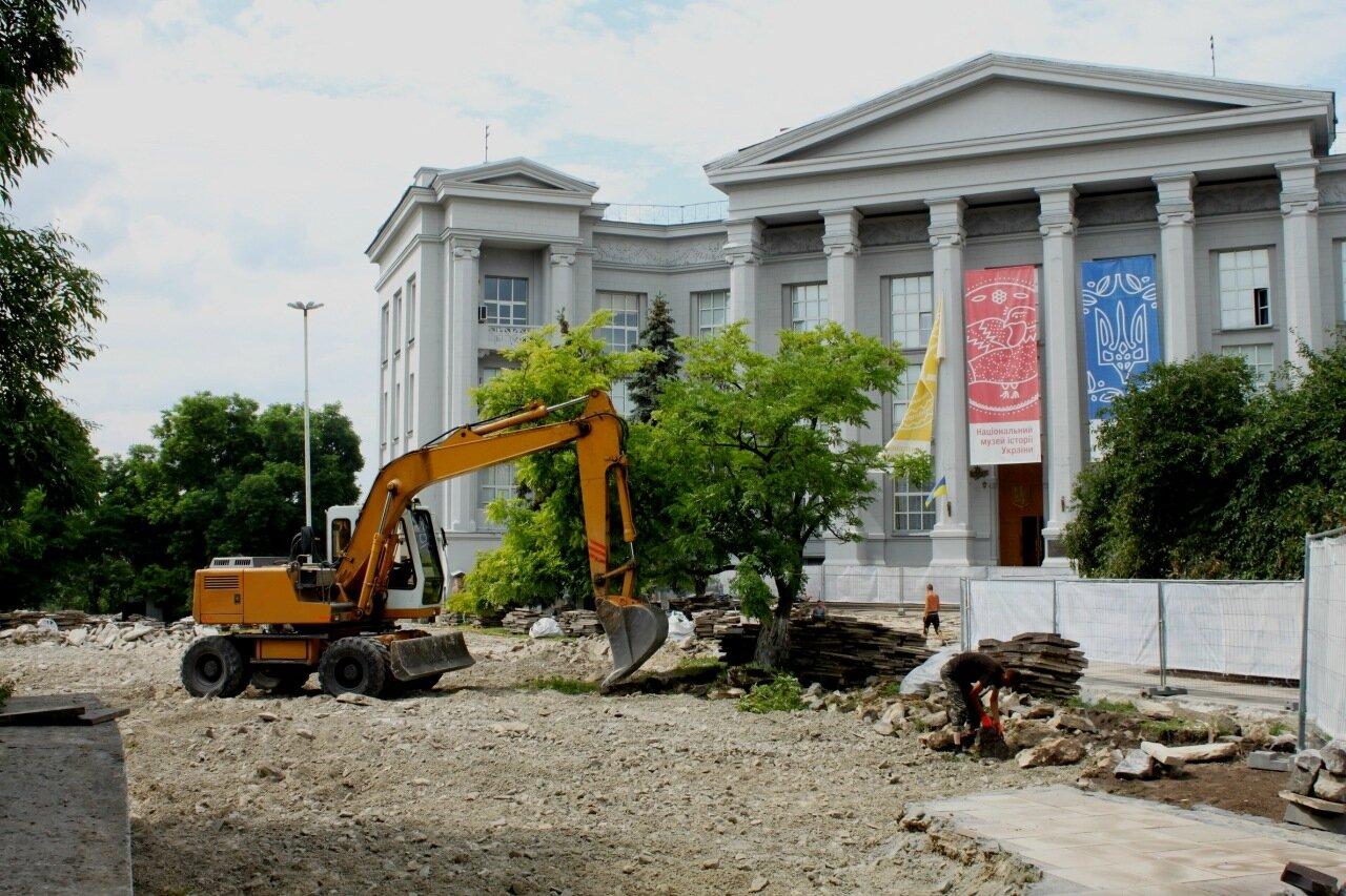 Реконструкция территории Старокиевской горы