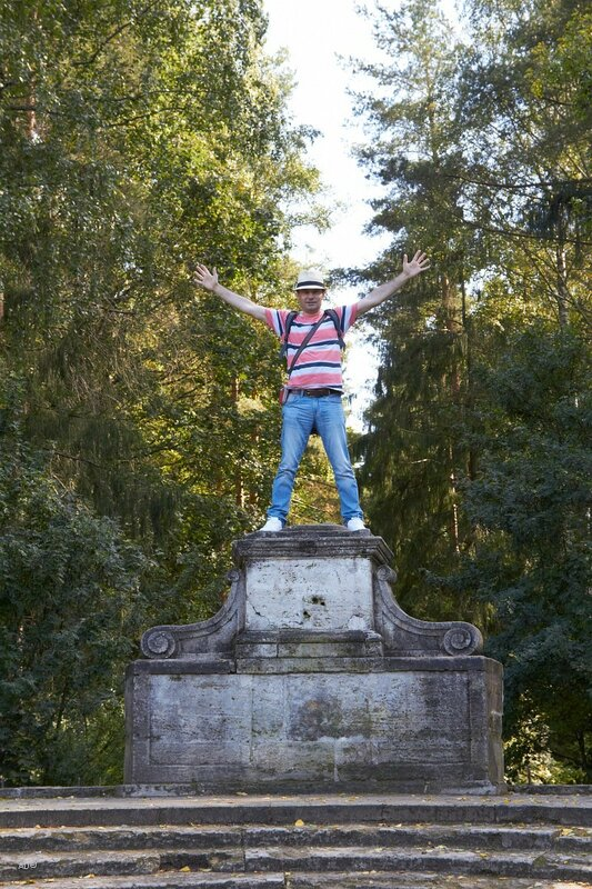 «Амфитеатр» со статуей «Флора»