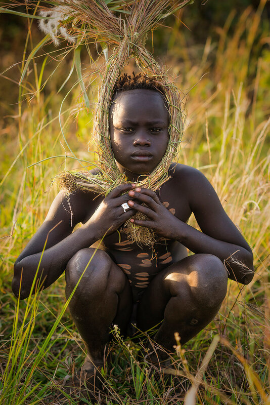 Племя Сури.