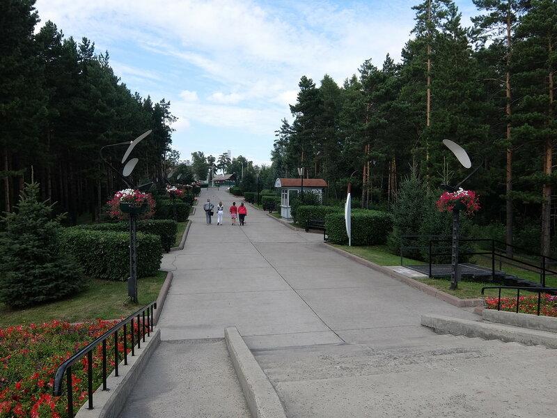 Кемерово - Сквер перед Красной Горкой