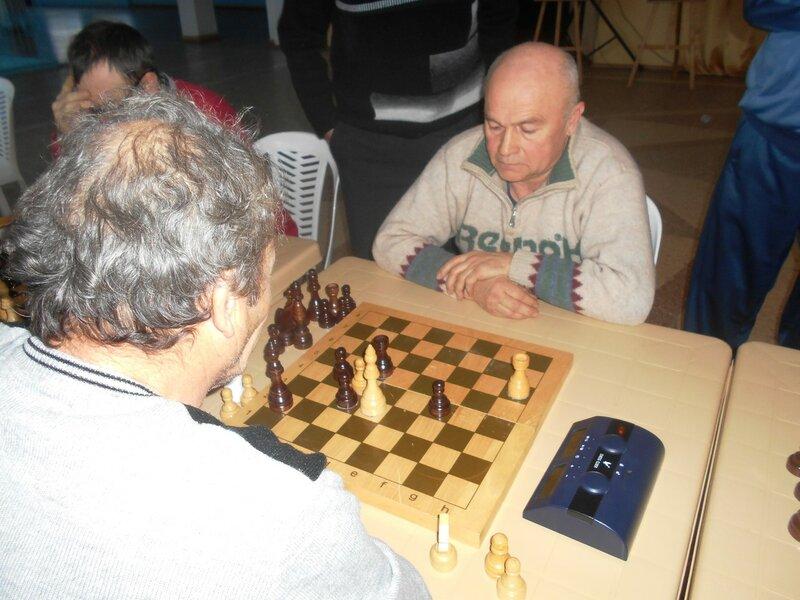 Эндшпиль, Шахматный турнир. Выселки. Декабрь 2016