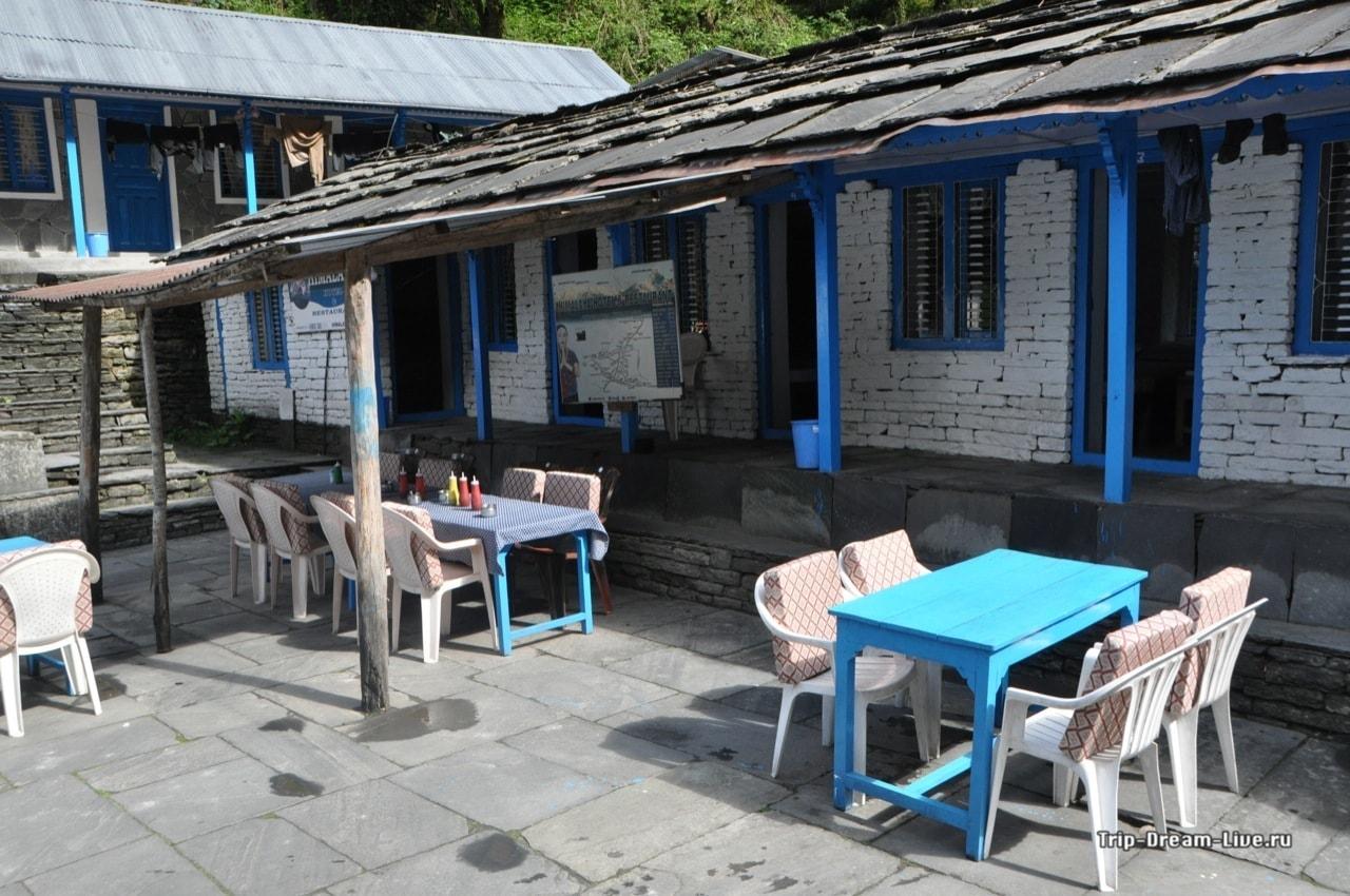В Хималаи довольно безлюдно