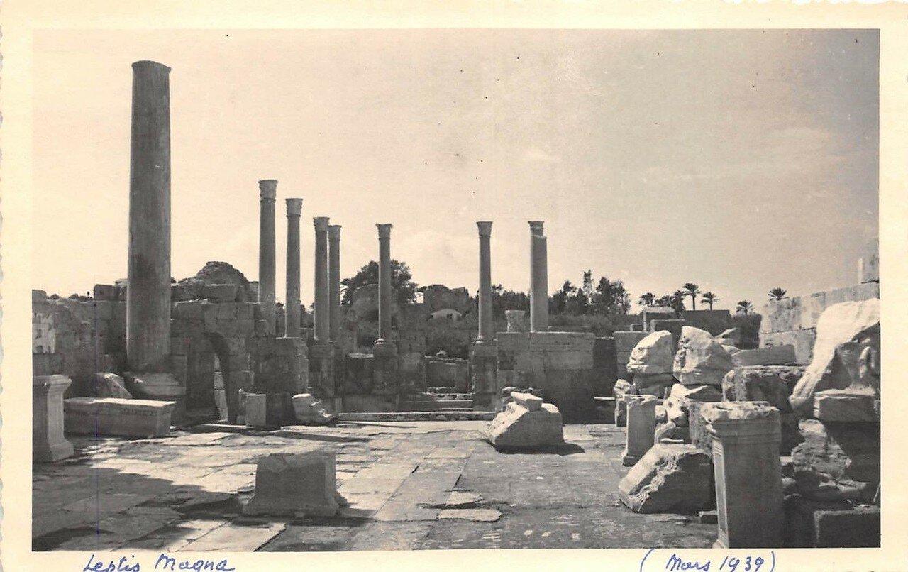 Лептис-Магна. Форум. 1939