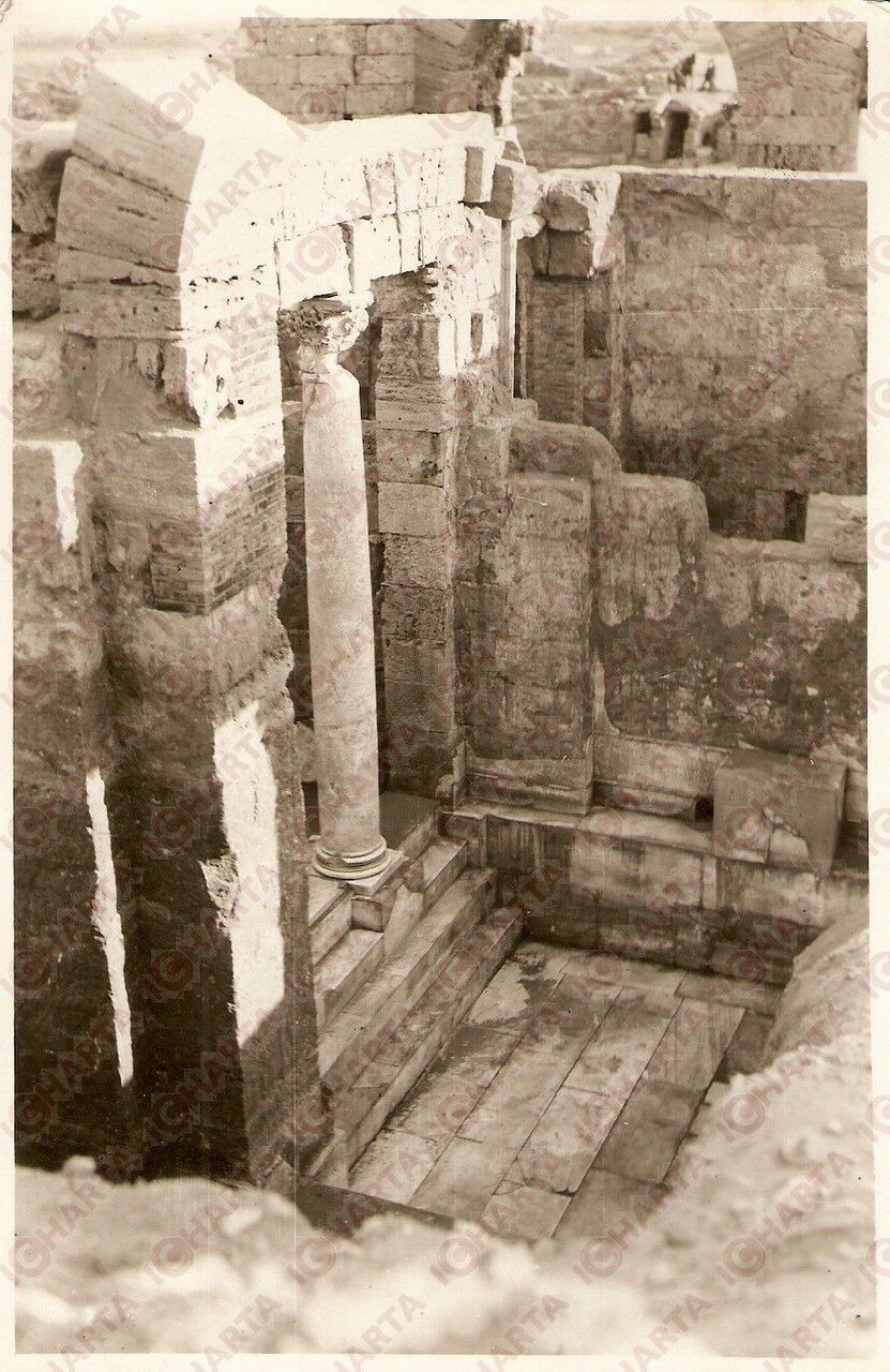 Лептис-Магна. Термы. Фригидарий. 1939