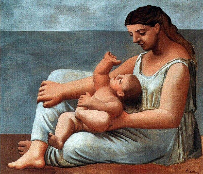 PIC - 0219 -- 1921 Mére et enfant.jpg