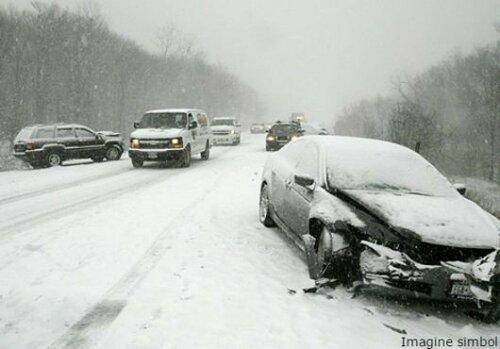 Снег и непогода стали причиной более 100 ДТП в Кишинёве
