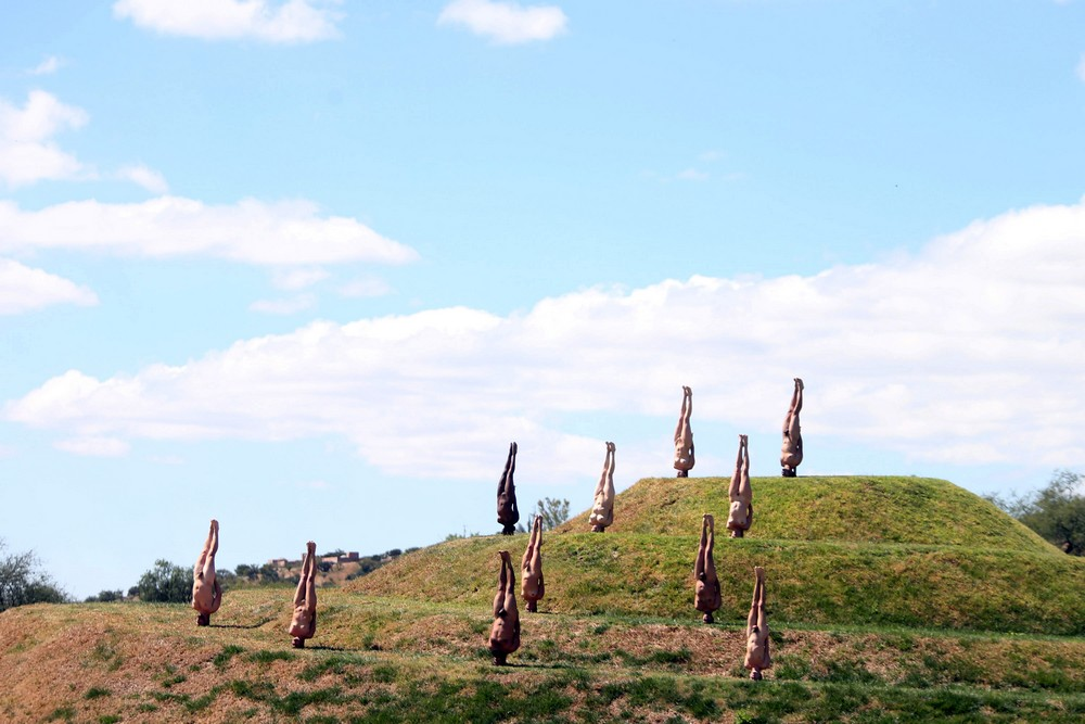 People pose nude for photographer Spencer Tunick for his art installation