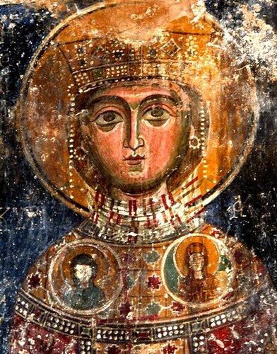Святая мученица Кириакия (Неделя).