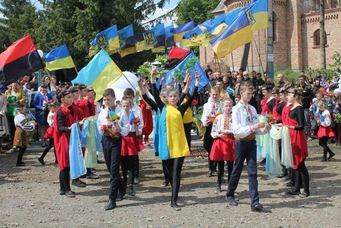 Правосекторівці на Прикарпатье почтили павших на Майдане