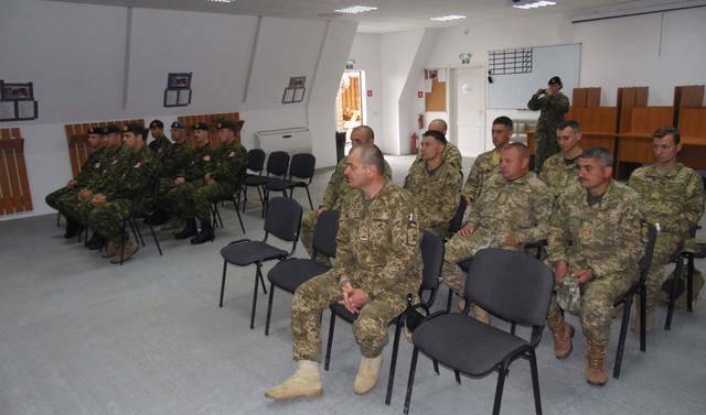 Группа украинских военных саперов получала квалификацию инструкторов по стандартам НАТО. ФОТО
