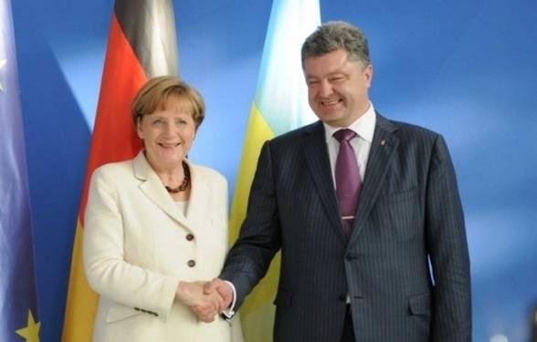 Порошенко обратился к Меркель с просьбой о лечении Умерова в Германии