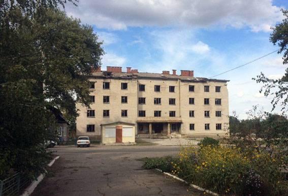 Полицейские обезвредили две растяжки боевиков в здании общежития на Донетчине. ФОТОрепортаж