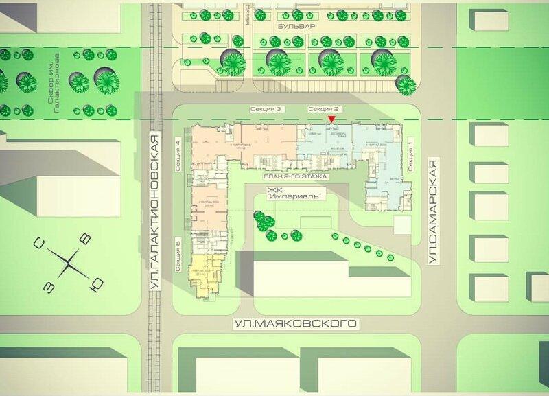 ЖК Империалъ. Проект застройки 130 квартала
