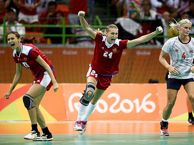Русские  гандболистки вышли вфинал Олимпиады