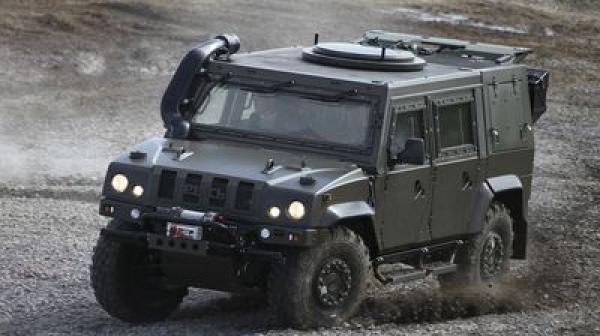 Минобороны пообещало разведчикам ВДВ всередине весны  неменее  40 бронемашин «Рысь»
