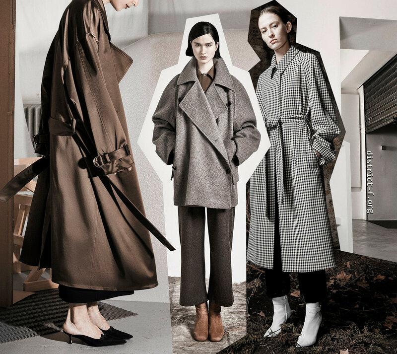DISTRICT F - С чем носить пальто (Идеи для компоновки)