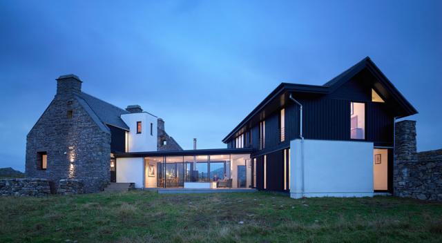 7. Шотландия, остров Колл, Белый Дом В 18 веке семья Маклин-Бристоль спроектировала это необычное зд