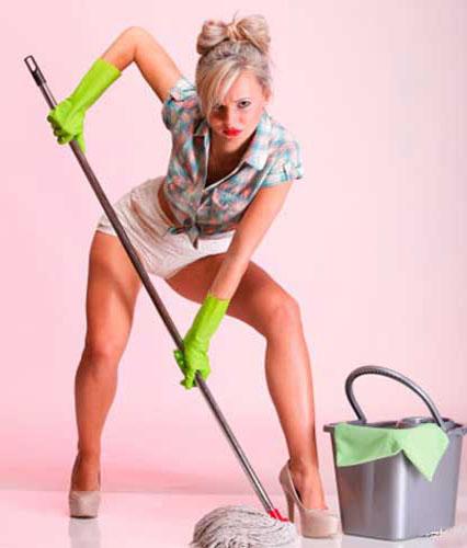 Быть хранительницей домашнего очага означает не содержать его в стерильной чистоте, в которой му