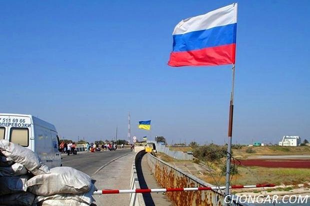 НаКПВВ «Чонгар» шофёр пытался пробиться натерриторию Крыма