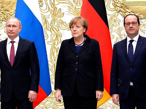 Меркель подтвердила переговоры поУкраине без Порошенко