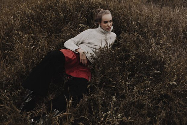 Fashion photographer Dome Darko shares with us his recent story titled Fleur Noir featuring the gorg