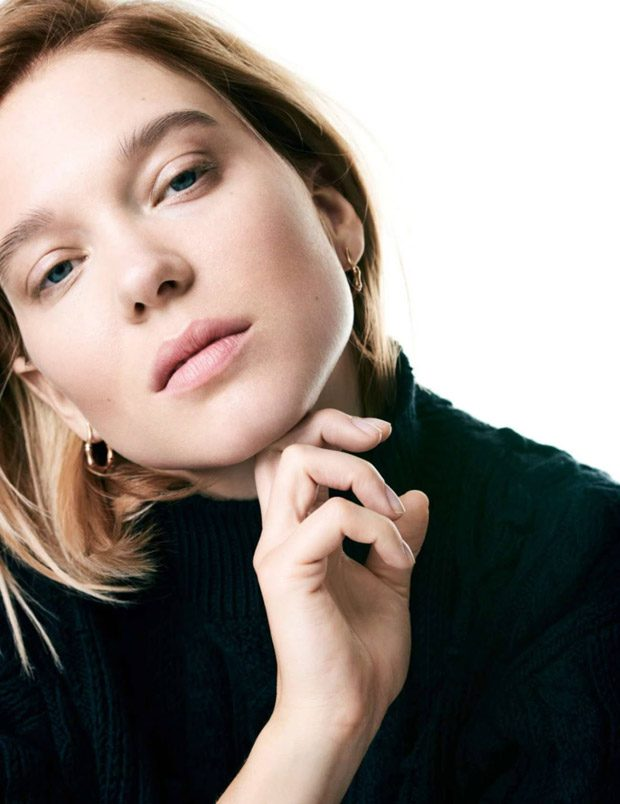 Actress Lea Seydoux Stars in Elle France Latest Cover Story