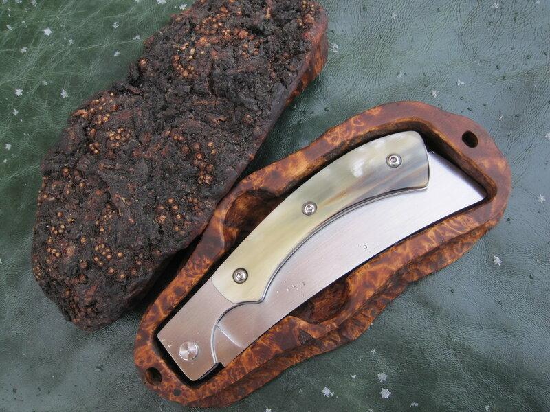 Нож складной от Валерия Вегеры