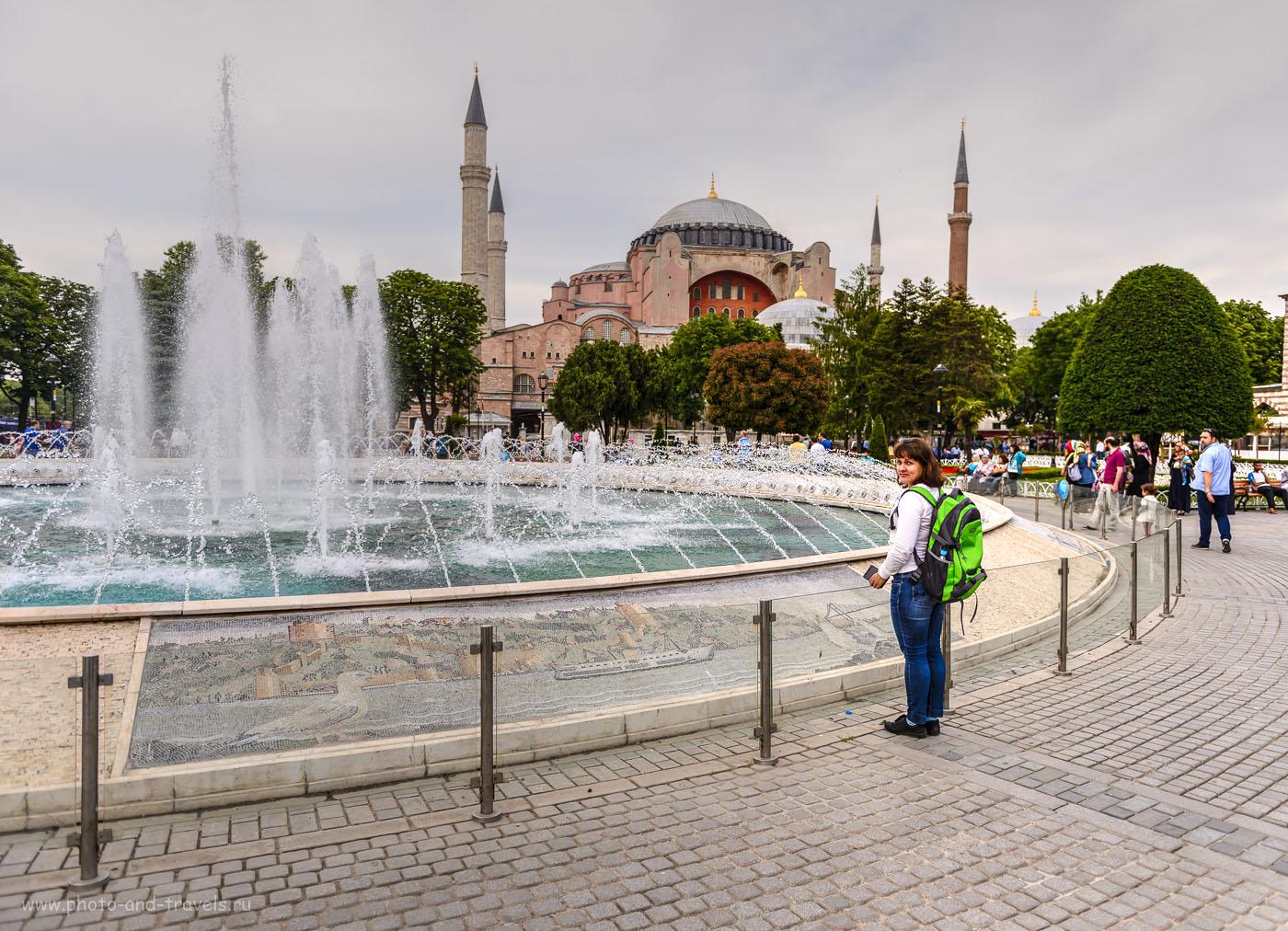 Фотография 7. Святая София Константинопольская или Айя-София – самое известное здание Турции. Тонмаппинг. 1/1600, 2.8, 200, 24.