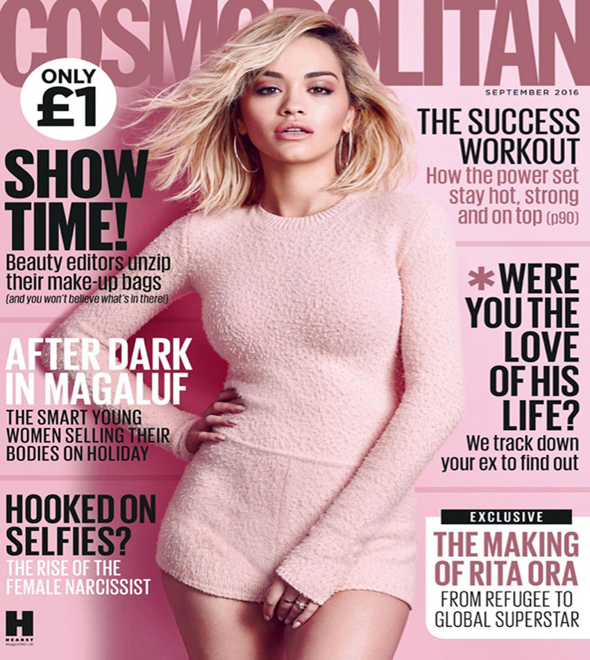 Rita Ora - Cosmopolitan UK (September 2016)