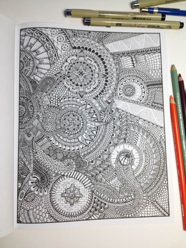 Between the Lines - Le livre de coloriage version expert…