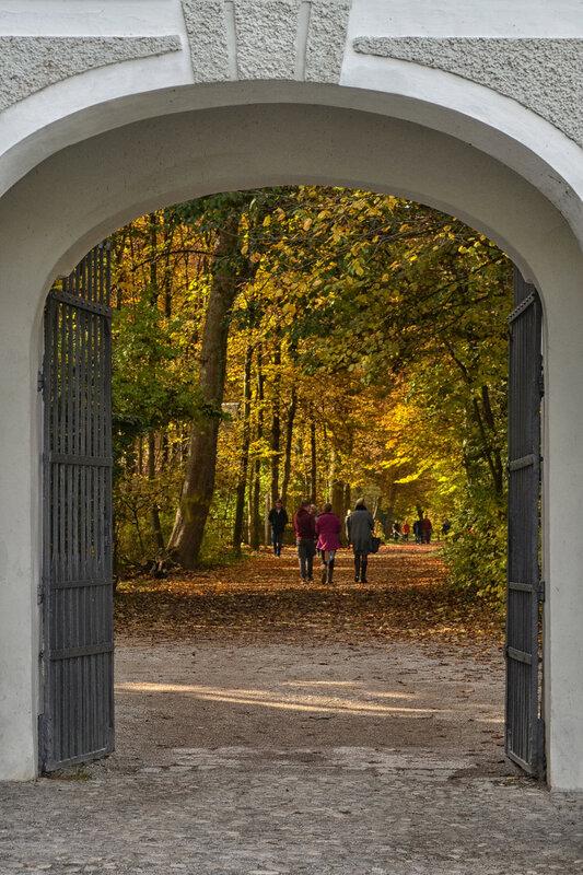 * Осень в Нимфенбурге