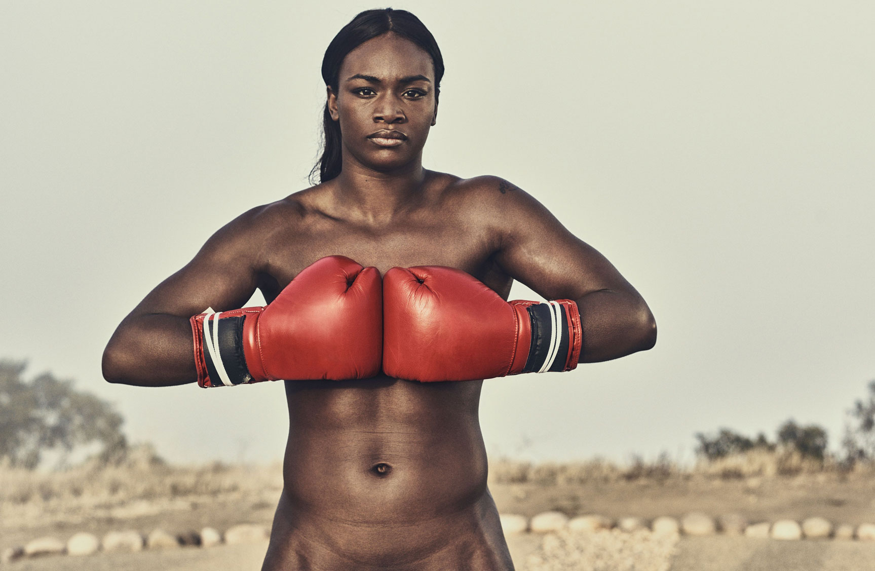 ESPN Magazine The Body Issue 2016 - Claressa Shields / Кларисса Шилдс - Культ тела журнала ESPN