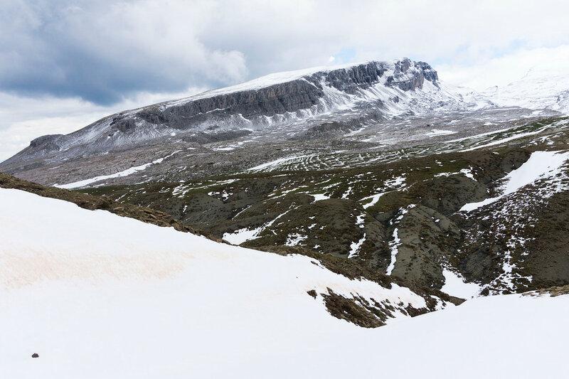 снег и гора Плоскос, Тимфи (Ploskos, timfi)