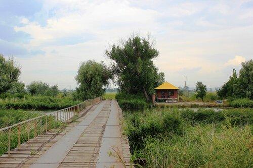 Мост в Рогожкино