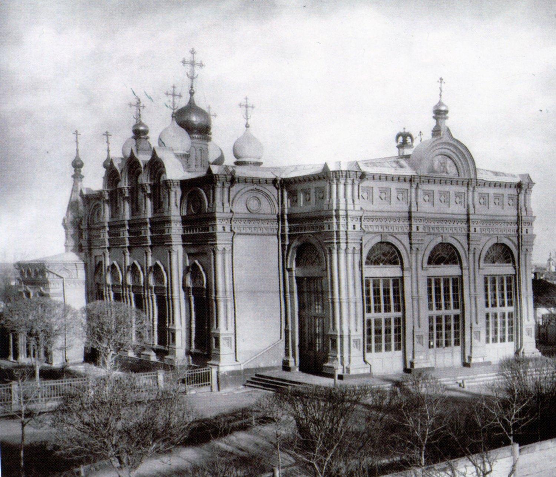1886. Воронцово поле. Трапезная храма Илии Пророка
