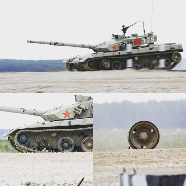 Как и все китайское: Танк Type 96 B сломался во время проведения соревнований «Танковый биатлон»