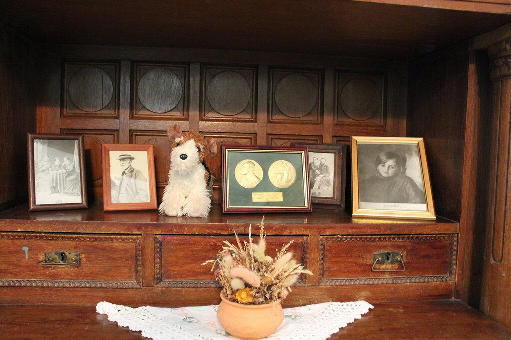 Колтуши. Старинный полубуфет в гостиной