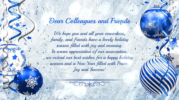 Christmas Card - Light Blue