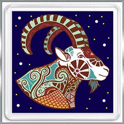 Магнит сувенирный Знак Зодиака Козерог