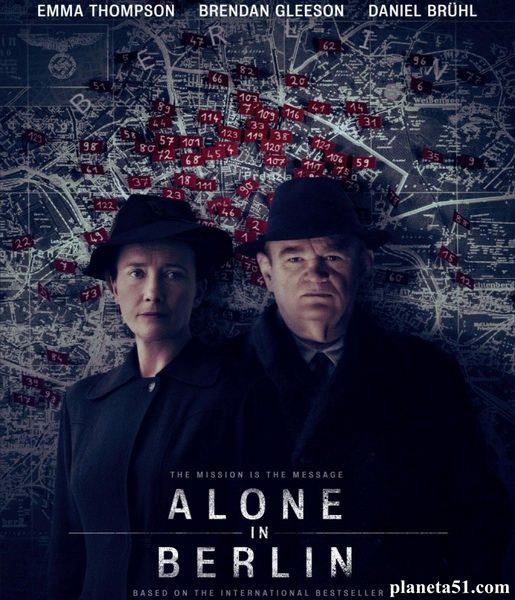 Одни в Берлине / Alone in Berlin (2016/WEB-DL/WEB-DLRip)