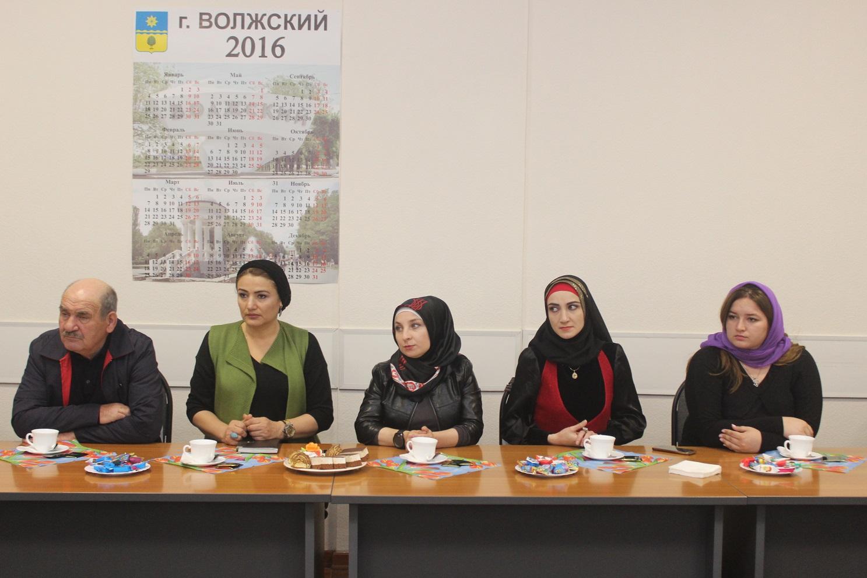 Руководители профсоюзов Чеченской Республики прибыли в Волжский