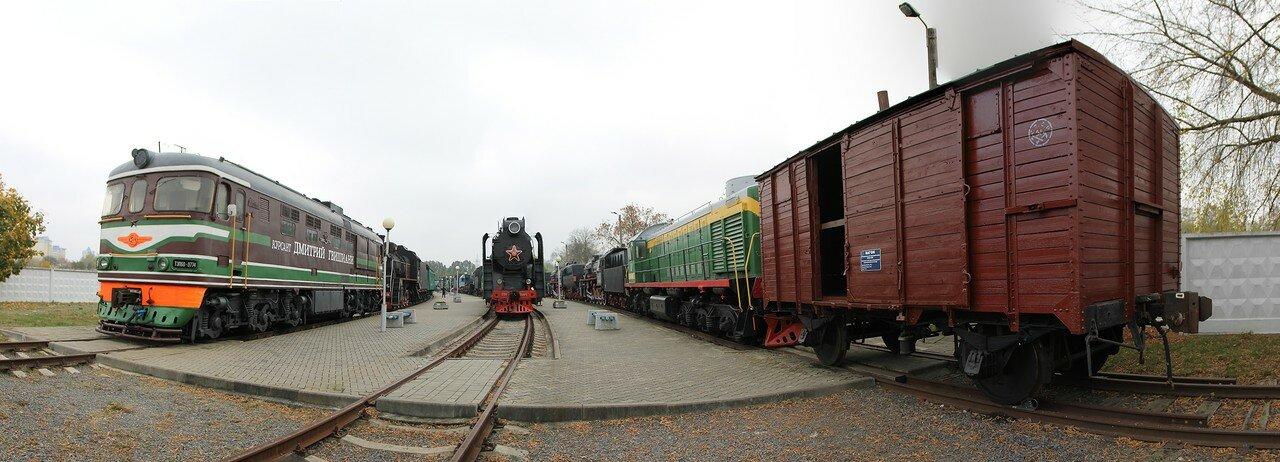 Brest Railway Museum (panorama)