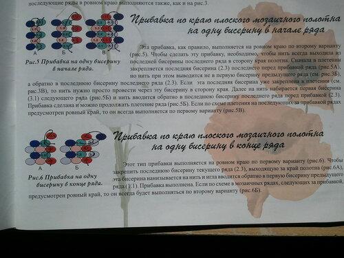 О схемах в книге ой - Мой бисерный сад
