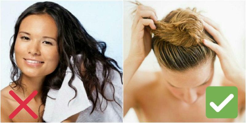 Эти 7 ошибок вы наверняка не раз совершали. Ваши волосы не скажут вам спасибо за это. Относитесь к