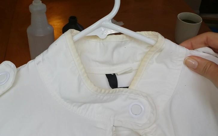 8. Следы на воротнике Убрать безобразные серые следы на воротнике рубашки можно при помощи зубной па