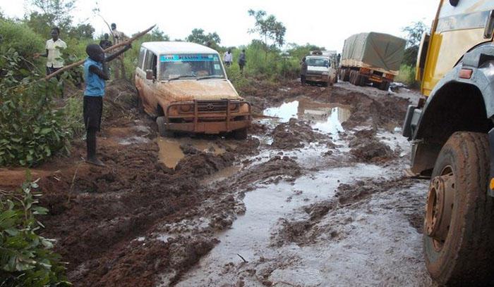 10. Судан Высокая смертность на дорогах Судана обусловлена ужаснейшими дорогами, отвратительным сост