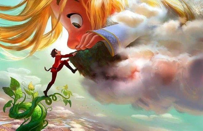 """Disney снимет адаптацию истории о """"Джеке и бобовом зернышке"""". Поделитесь этим постом с дру"""