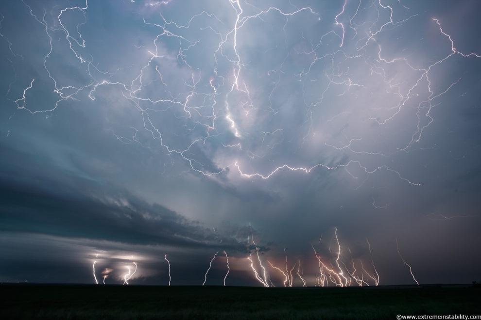 Когда бьет молния (19 фото)